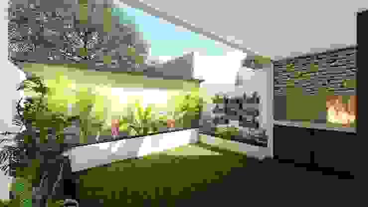 Taman Minimalis Oleh Arquitecto Leandro Puy Minimalis