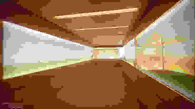 Bureau moderne par SET Arquitetura e Construções Moderne