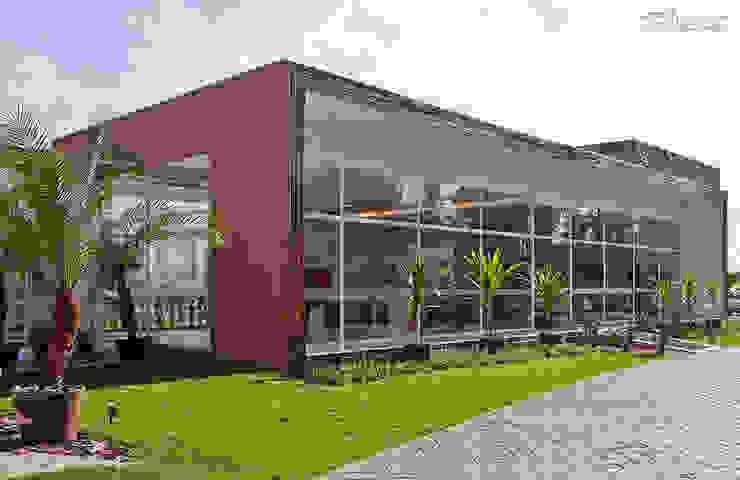 SET Arquitetura e Construções Rumah teras