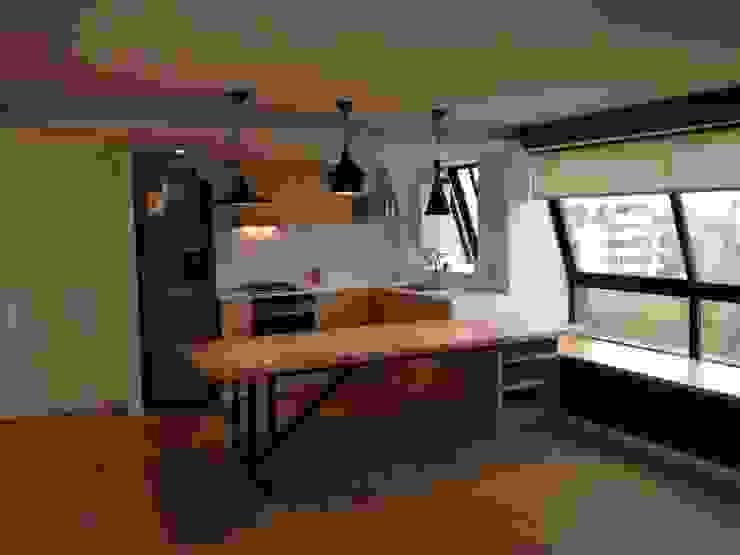 Phòng ăn theo [ER+] Arquitectura y Construcción, Bắc Âu