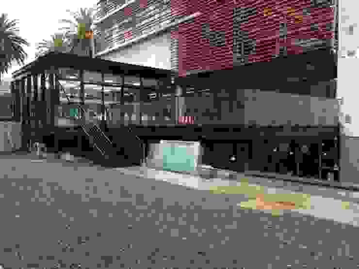 AMPLIACION CASINO DUOC VALPARAISO de [ER+] Arquitectura y Construcción Minimalista