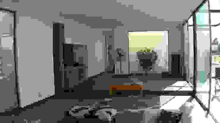 [ER+] Arquitectura y Construcción Minimalistische Wohnzimmer