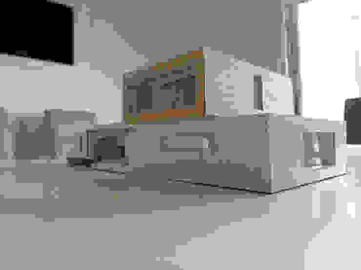 PROYECTO CASA CURACAVI Casas de estilo minimalista de [ER+] Arquitectura y Construcción Minimalista