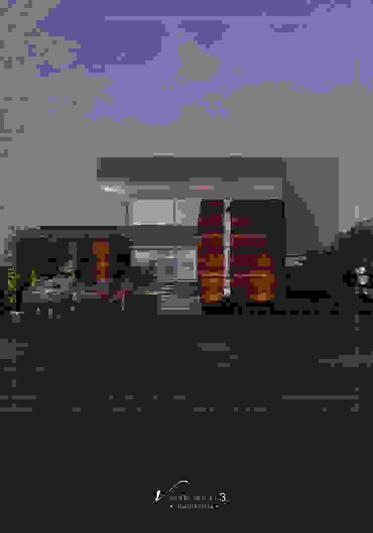 Visualización 3D Villas Ceramic Wood effect