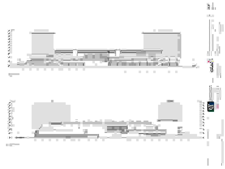 PROYECTO CENTRO COMERCIAL <q>MALL CAEP</q> de [ER+] Arquitectura y Construcción Moderno