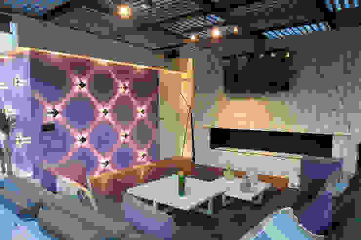 Cubic White: Salas de estilo  por STUDIO COCOONS,