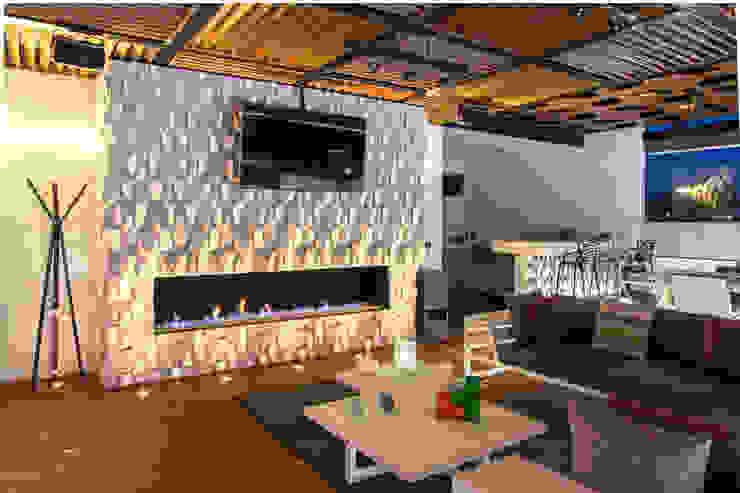 Cubic White STUDIO COCOONS Salas multimedia modernas
