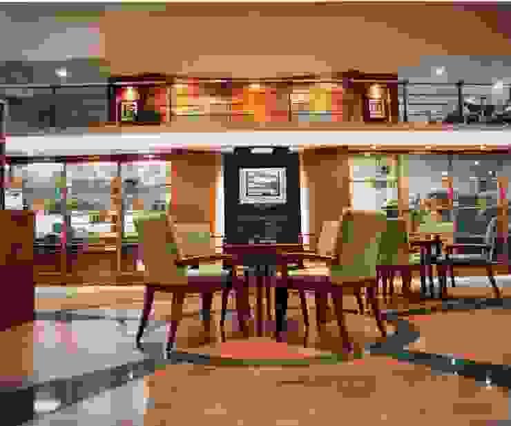 lounge area Kantor & Toko Modern Oleh sigmaDKNP Modern