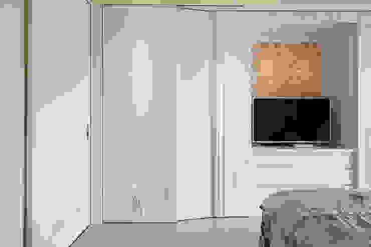 主臥衣櫃 設計 根據 趙玲室內設計 鄉村風