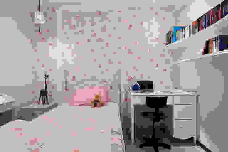 花朵紛飛 女孩房 根據 趙玲室內設計 鄉村風