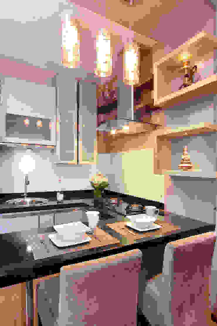 Interior Apartemen Tamansari Semanggi Oleh SAKA Studio Modern