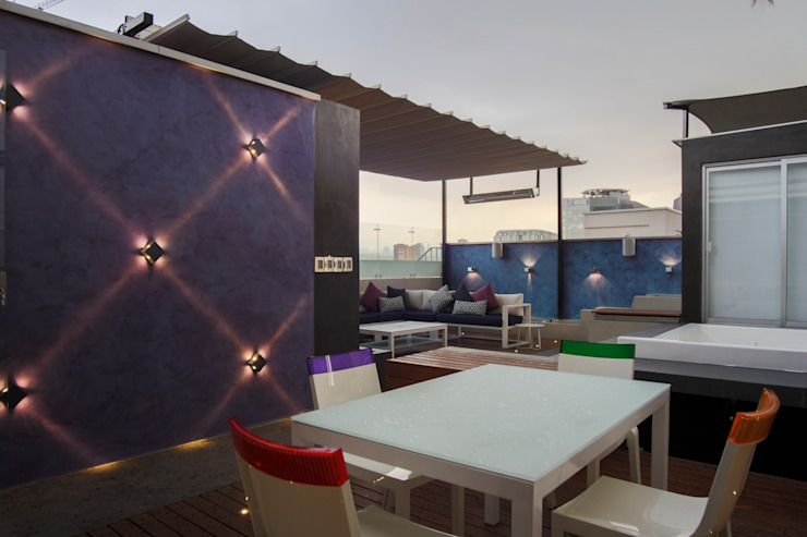 STUDIO COCOONS Modern style balcony, porch & terrace