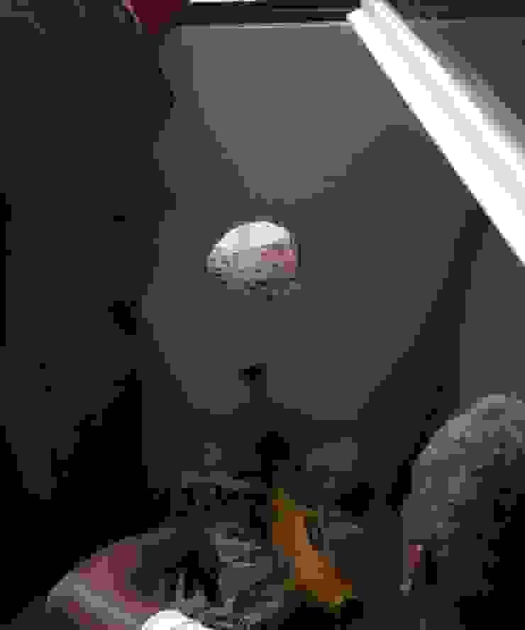 Preparación de las perforaciones para los ventiladores descentralizados de AISLA Y AHORRA SL