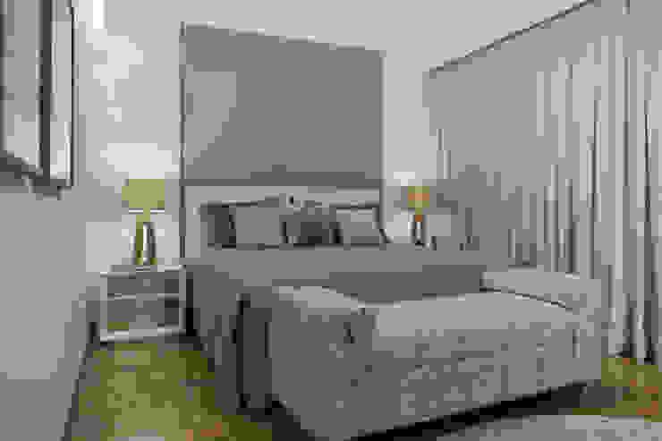 Bedroom by Maluf & Ferraz interiores,