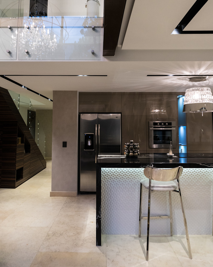 Highlight Black STUDIO COCOONS Salones modernos