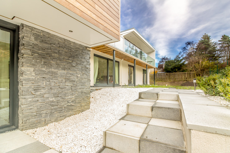 Modern Extension to a Bungalow, Edinburgh Oleh Capital A Architecture Modern