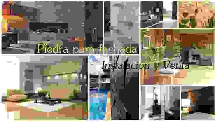 Venta e Instalacion de Recubrimientos Residenciales Casas modernas de PECASA RECUBRIMIENTOS Moderno