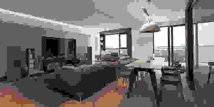 Căn hộ chung cư cao cấp TimesCity – T11 bởi deline architecture consultancy & construction Hiện đại