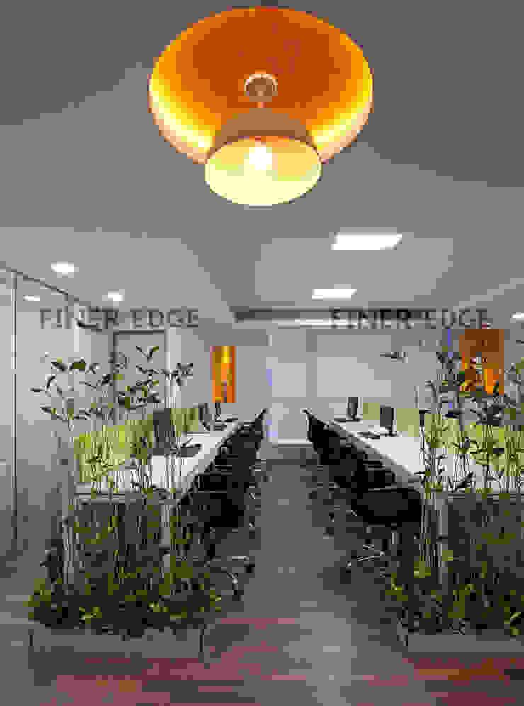 Hindustan micro finance by Finer Edge Architects & Interior Designers Modern