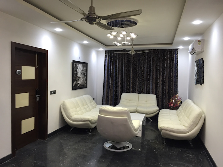 Residential Interiors Modern living room by Radian Design & Contracts Modern