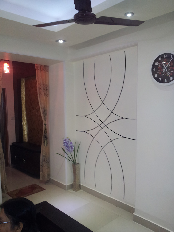 Residential Interiors Modern corridor, hallway & stairs by Radian Design & Contracts Modern