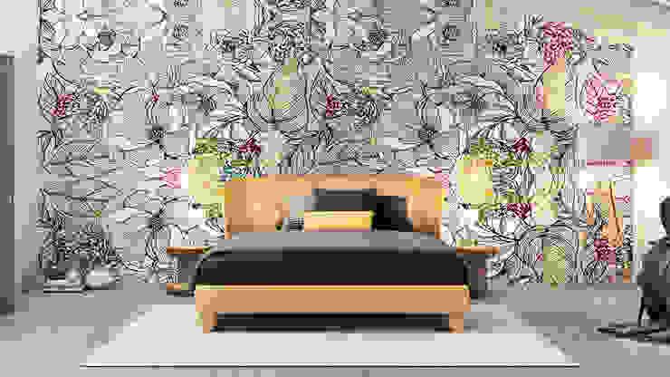 Chambre de style  par Pitzus Group Costruzioni S.r.l., Moderne