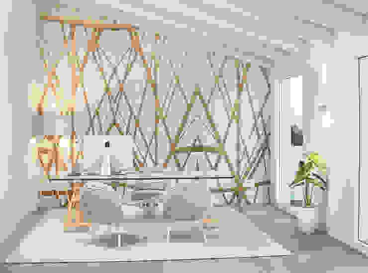 Bureau de style  par Pitzus Group Costruzioni S.r.l., Moderne