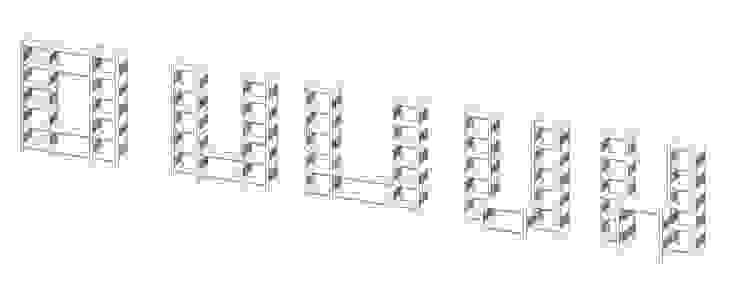 modern  door Architekturbüro Michael Bidner, Modern Hout Hout