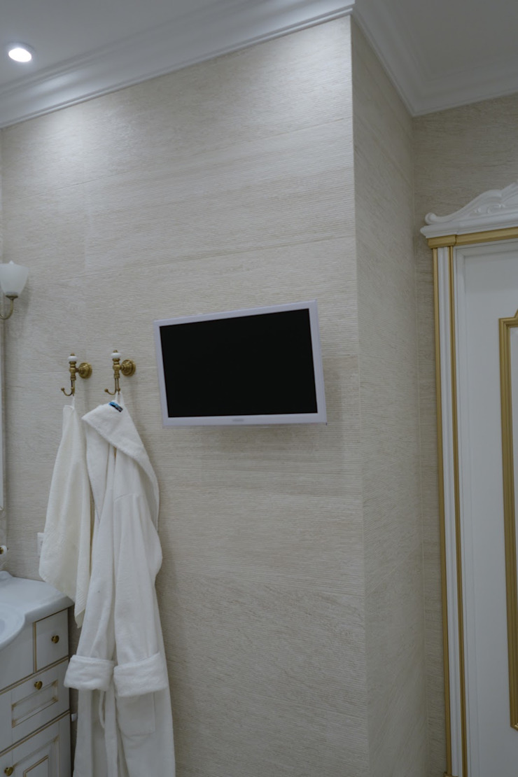 Kamar Mandi Klasik Oleh Студия интерьерного дизайна happy.design Klasik