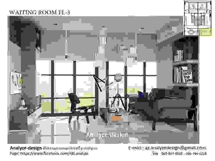 living room: ด้านอุตสาหกรรม  โดย Analyze-design, อินดัสเตรียล