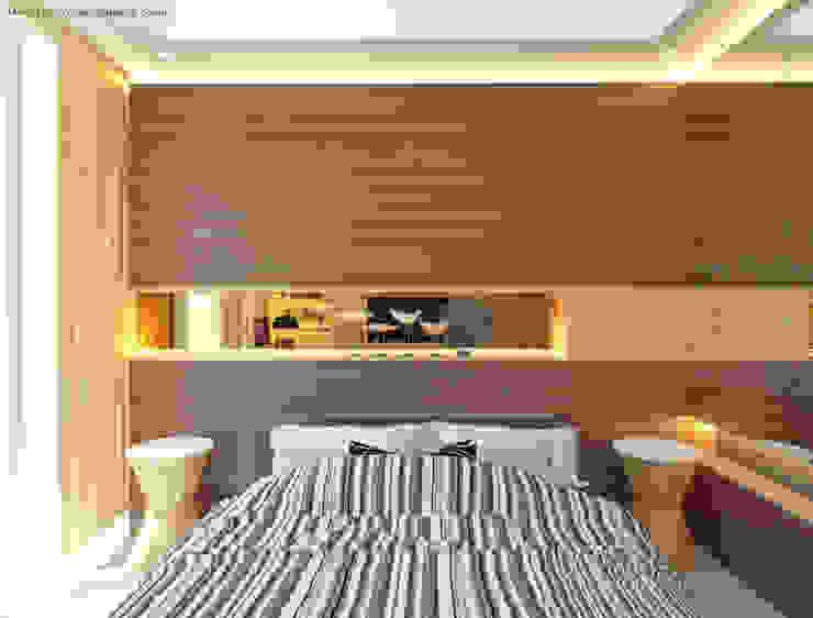 Guest Bedroom – Apartment Sudirman Area Kamar Tidur Modern Oleh Vaastu Arsitektur Studio Modern