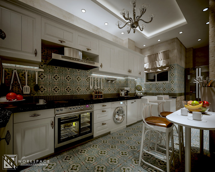 authentic kitchen by WORKSPACE architects & interior designers