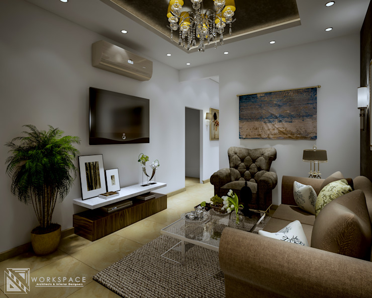 Space for us | Family room by WORKSPACE architects & interior designers Mediterranean