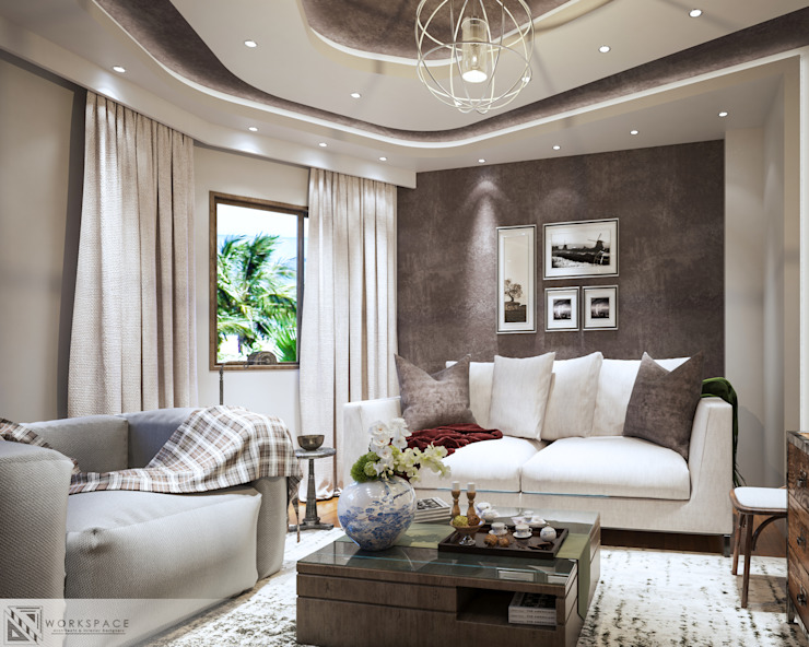 Ultra modern | Living room by WORKSPACE architects & interior designers