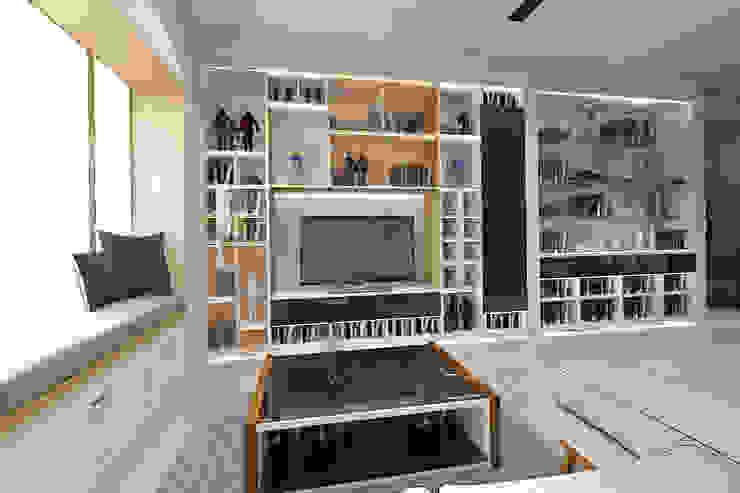Moderne Wohnzimmer von SINAR JAYA DESIGN Modern Sperrholz