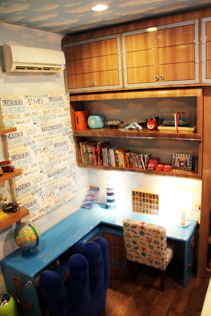 Kamar Anak dengan tema <q>Perahu</q> Oleh G | moment capture Modern