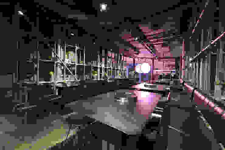 Seoul Garden Gastronomi Gaya Industrial Oleh KERA Design Studio Industrial