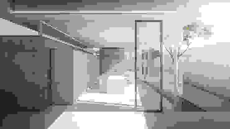 S-House KERA Design Studio Ruang Makan Minimalis