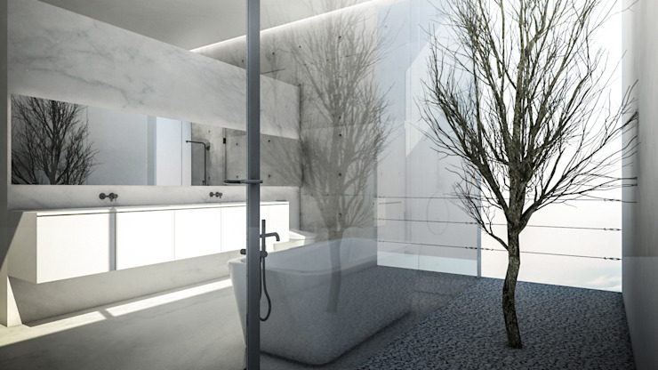 KERA Design Studio Minimalist style bathroom