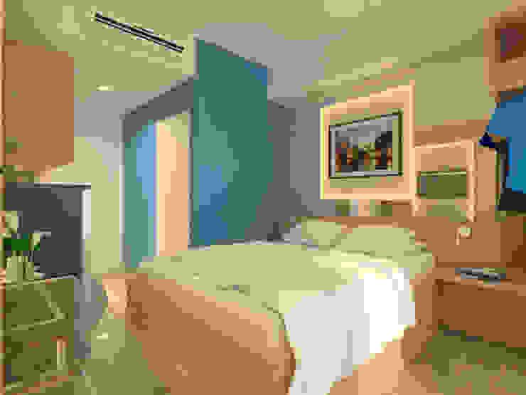 Interior Type Studio, Papilio Apartemen, Surabaya Oleh Artisia Studio