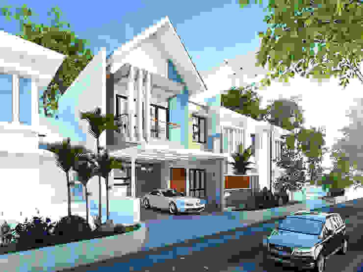 Rumah Tinggal Mr. Liem, Cileungsi, Bogor Oleh Artisia Studio