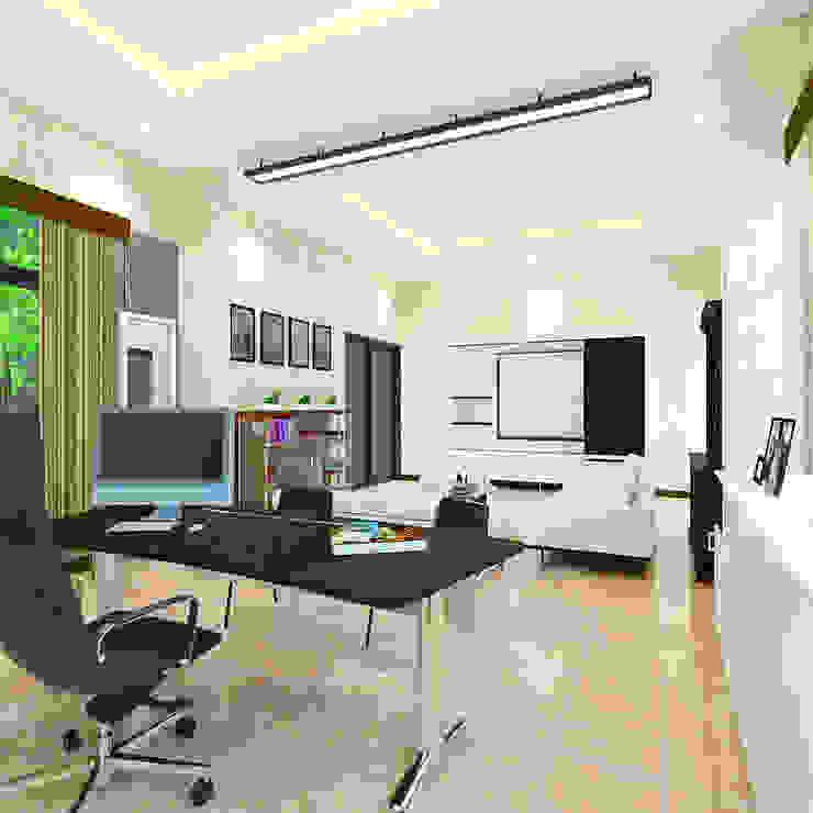 Interior Ruang Direksi Pabrik Rokok NB, Tanggulangin, Sidoarjo Oleh Artisia Studio