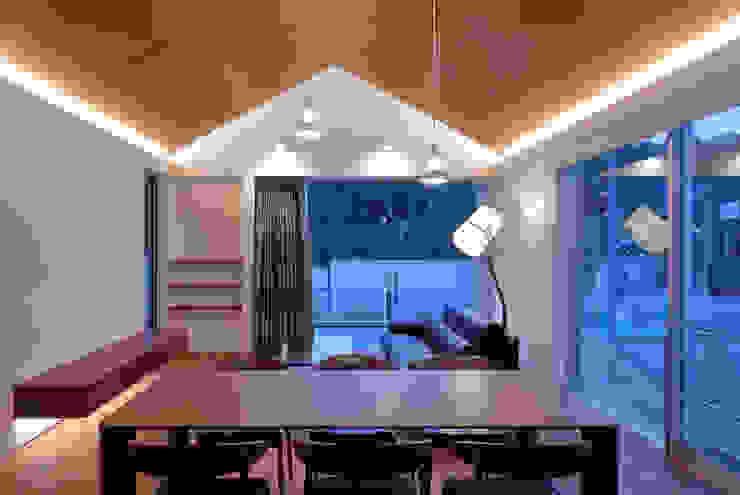 澤村昌彦建築設計事務所 Ruang Keluarga Modern