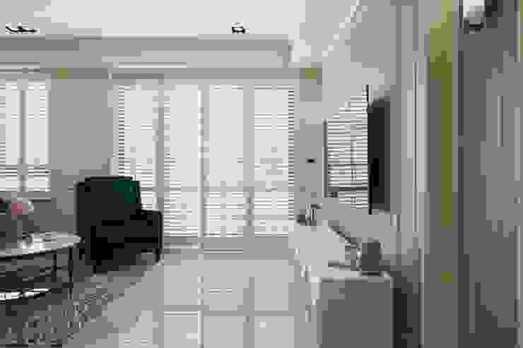 Sunny.Boudoir 理絲室內設計有限公司 Ris Interior Design Co., Ltd. 窗戶與門窗戶與門 White