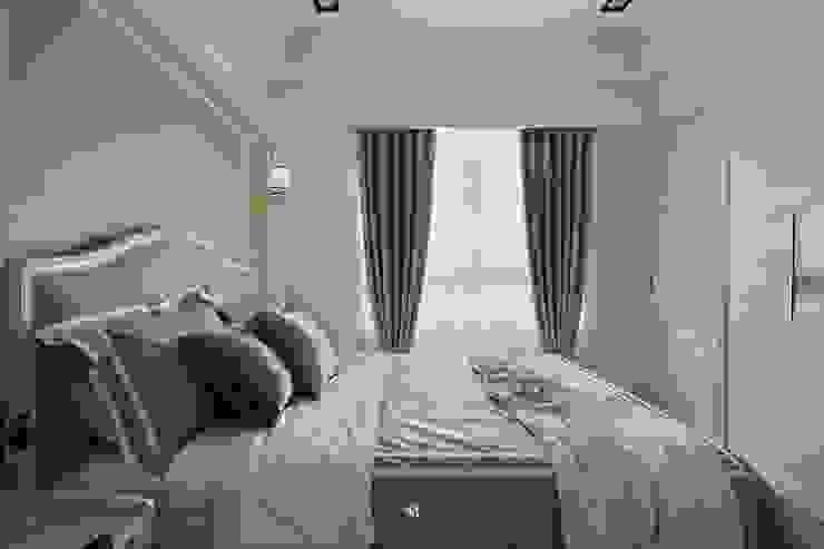 Sunny.Boudoir 理絲室內設計有限公司 Ris Interior Design Co., Ltd. 臥室布織品 Grey