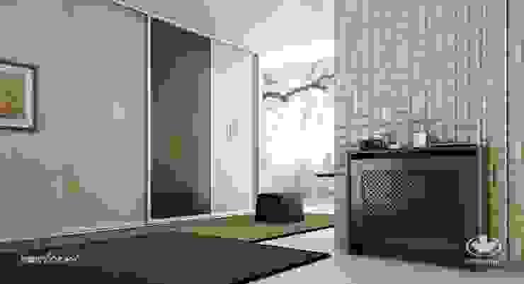 Komandor - Wnętrza z charakterem Living roomStorage Chipboard Beige