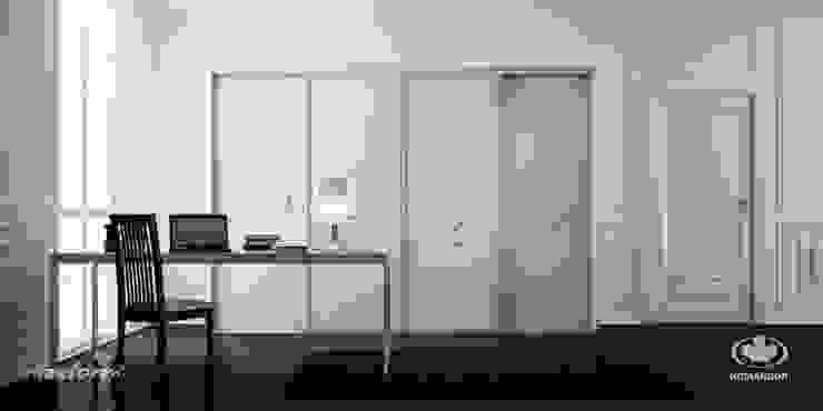 Komandor - Wnętrza z charakterem Living roomStorage Chipboard White