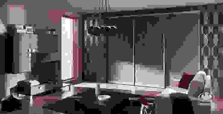 Komandor - Wnętrza z charakterem Living roomStorage Chipboard Wood effect