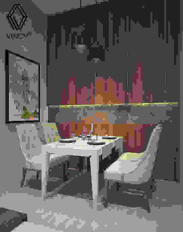 Diningroom Ruang Makan Modern Oleh Vinch Interior Modern