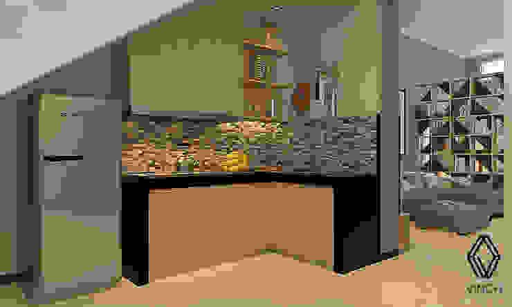 Kitchen Oleh Vinch Interior Modern Kayu Wood effect